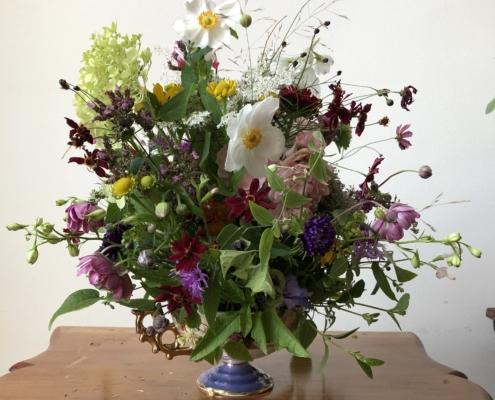 Bloemen voor de achterblijvers