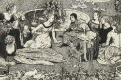 Illustratie uit de Decamerone