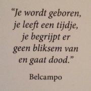Tekst van Belcampo