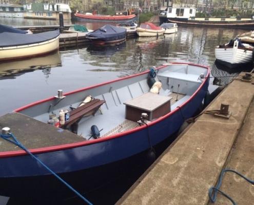 Met de boot naar uw laatste rustplaats